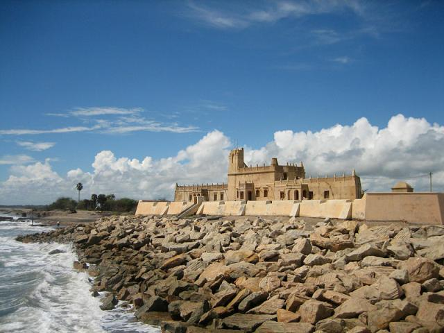 the old Danish fort Dansborg at Tranquebar